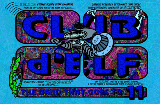 Club d'Elf 11th Anniversary Poster
